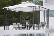 pavillons garten pavillon verkauf pavillons mehrere. Black Bedroom Furniture Sets. Home Design Ideas
